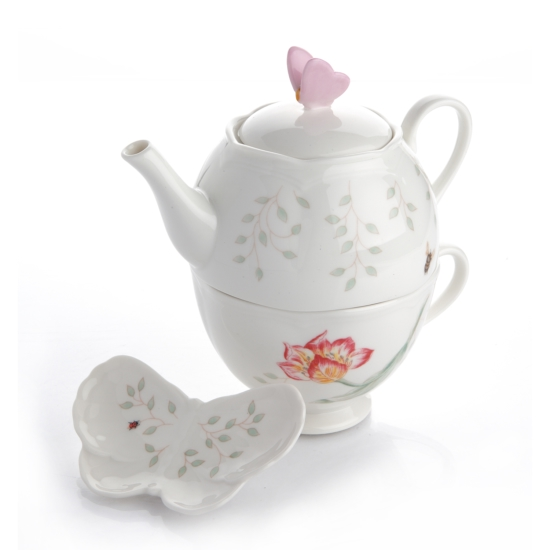 버터플라이 STACKABLE TEA SET